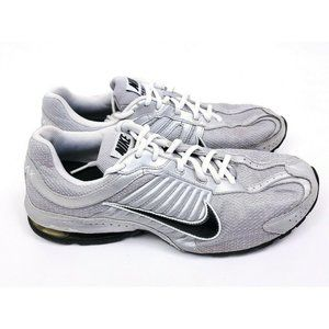 Nike Reax Run 4 Mens Size 10 Running Shoes Silver